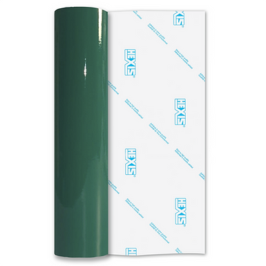 Medium Green Economy Permanent Gloss Self Adhesive Vinyl