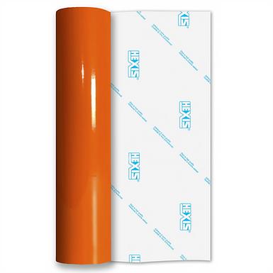 Orange Permanent Standard Gloss Self Adhesive Vinyl