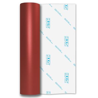 Red Shimmer Metal Satin Self Adhesive Vinyl