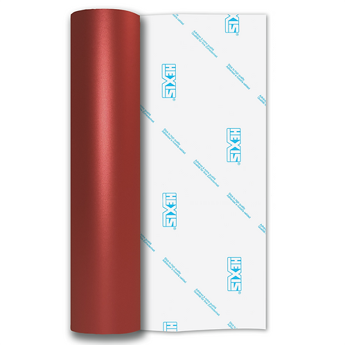 Red Shimmer Metal Satin Self Adhesive Vinyl