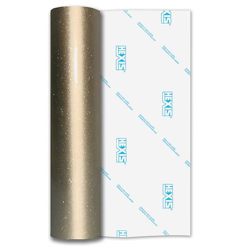 Ultra Glitter FX Platinum Gold Gloss Self Adhesive Vinyl