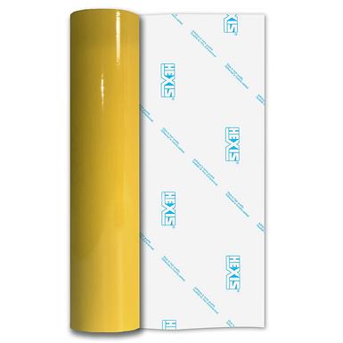 Klee Yellow Balloon Vinyl Satin Self Adhesive Vinyl