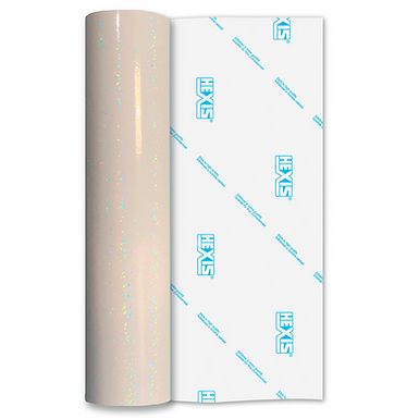 Sequin Transparent Clear Gloss Self Adhesive Vinyl