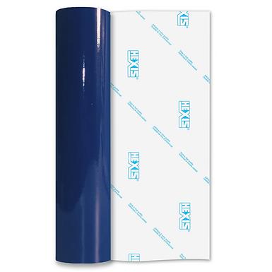 Pacific Blue Economy Permanent Gloss Self Adhesive Vinyl