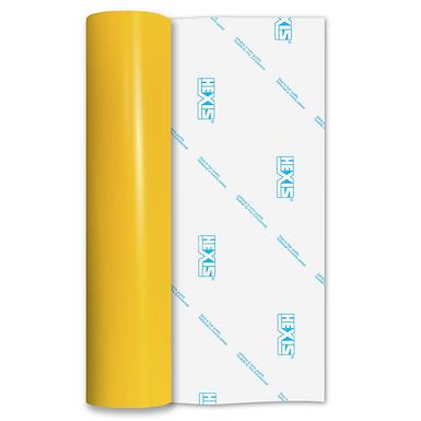 Daffodil Yellow Standard Permanent Matt Self Adhesive Vinyl