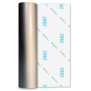 Silver Coarse Alloy Self Adhesive Vinyl