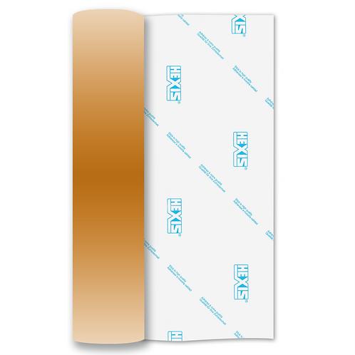 Rose Gold Metallic RAPIDFLEX Heat Transfer Flex 500mm Wide x 1m Long