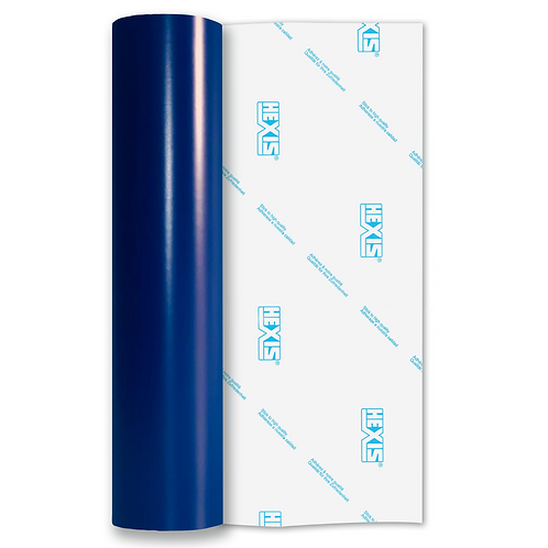 Blue Standard High Tack Matt Self Adhesive Vinyl