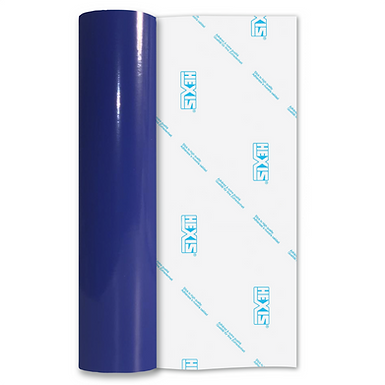 Reflex Blue Economy Permanent Gloss Self Adhesive Vinyl