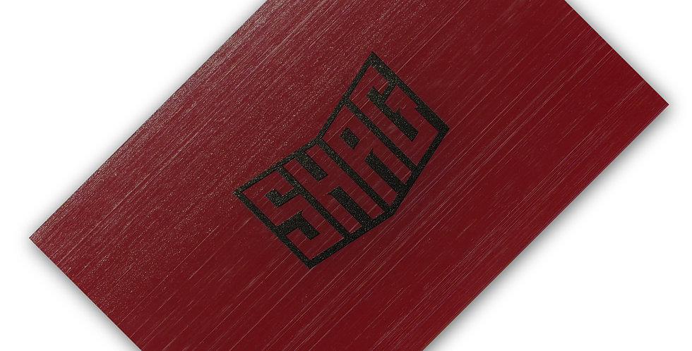 SHAG Red Flexible Blade For Wet Applications