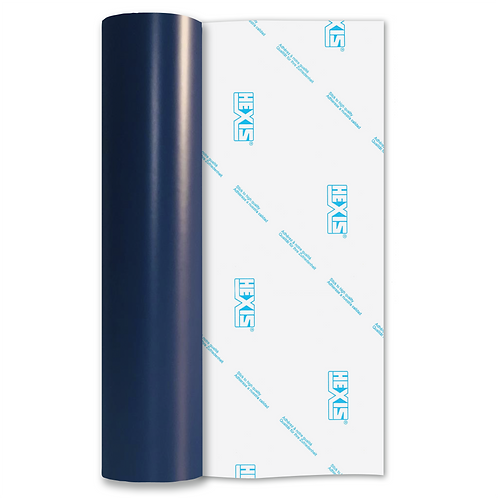 Night Blue Standard Permanent Matt Self Adhesive Vinyl
