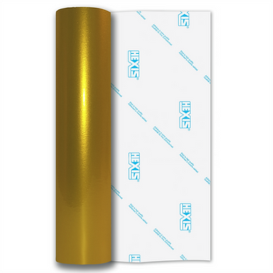 Yellow Shimmer Metal Gloss Self Adhesive Vinyl