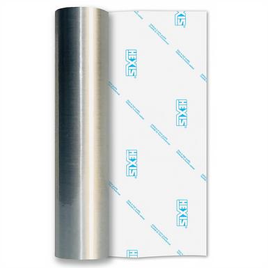 Silver Fine Brush Self Adhesive Vinyl
