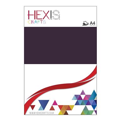 Aubergine Heat Transfer Flex Sheet