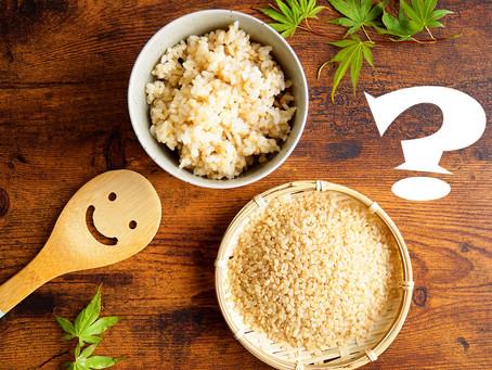 玄米のメリット、具体的にご存知でしたか?