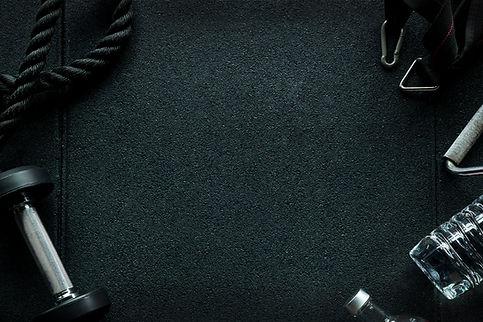 CrossFit Equipment on floor in Gym..jpg