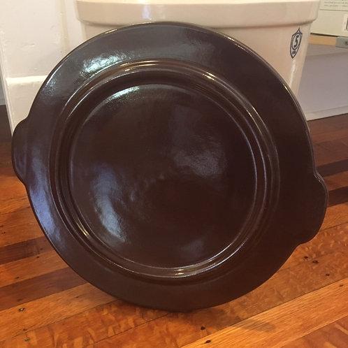 5 Gallon Crock Lid (Ohio Stoneware)