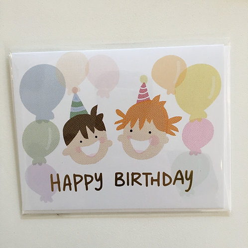 Happy Kids Birthday Card (Penny Paper Co)