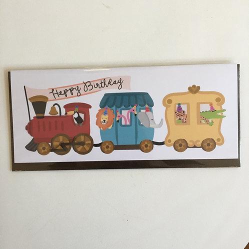 Happy Birthday Train (Bloomwolf Studio)