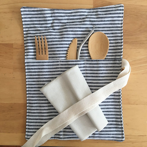Utensil Wrap (Dot and Army)