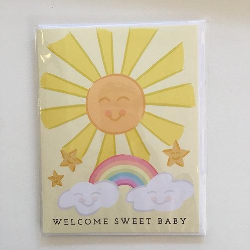 Welcome Sweet Baby (Bloomwolf Studio)