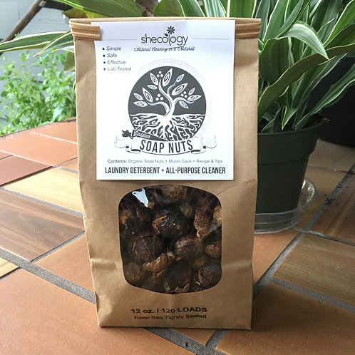 Soap Nuts 12 Oz (Shecology)