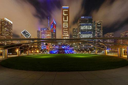 Millennium Park Chicago Cubs World Champions