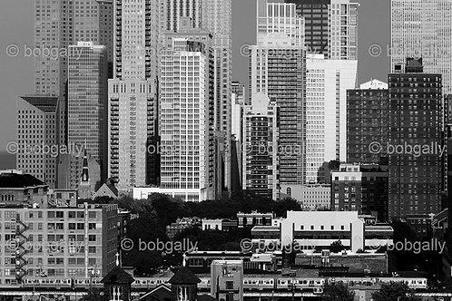 Chicago North-side Cityscape