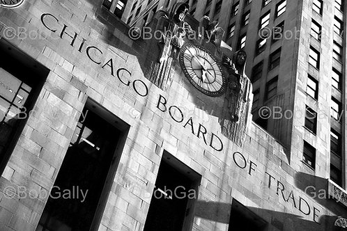 Chicago Board of Trade Clock