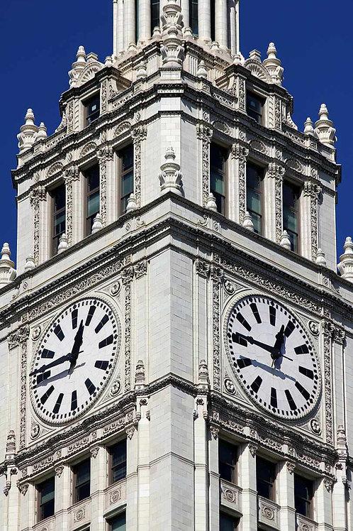 Wrigley clocks