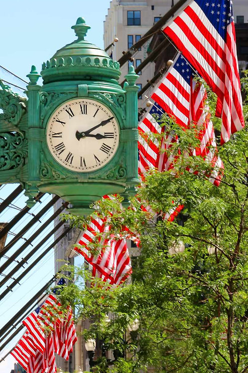 Marshall Field's clock