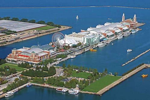 Navy Pier from SW