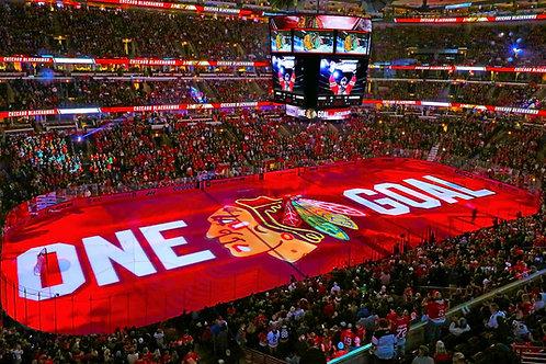 Chicago Blackhawks One Goal Photo