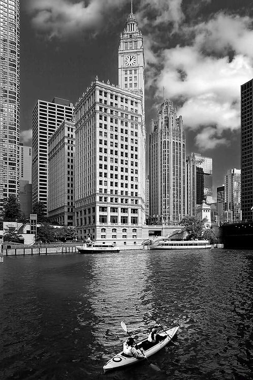 Wrigley Building from the Chicago River