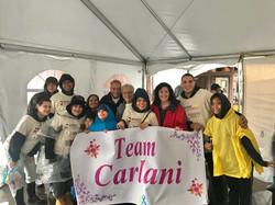 Team Carlani ready to walk!