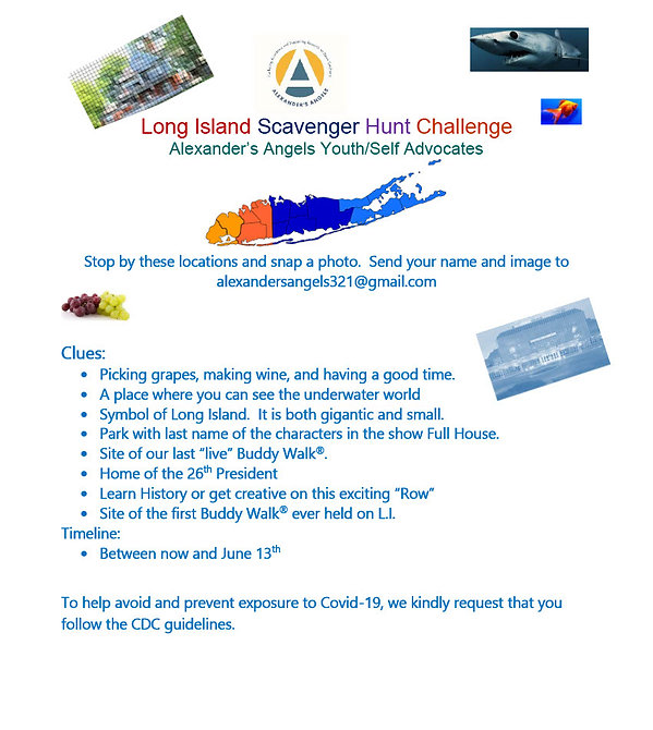 Long Island Scavenger Hunt Challenge1024