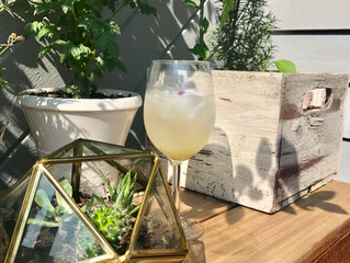 Lavender, Ginger, and Lime Tonic