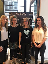 Charity event with Aveda for eart day 2017. Donated free nutrition coaching to clients at Aveda's Flagship store on 5th Ave