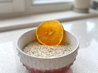 Orange Creamsicle Overnight Oats