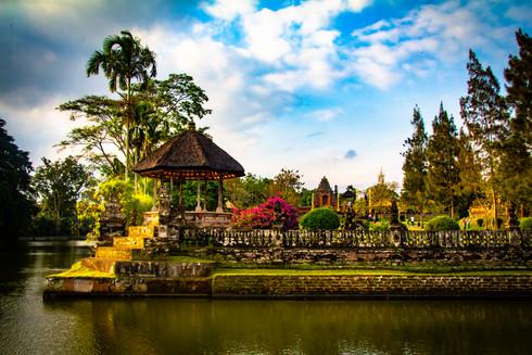 Taman Ayun Palace Waterways
