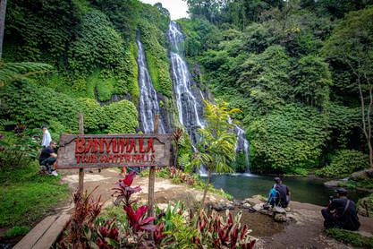 Banyumala Waterfalls