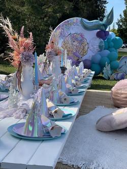 Mermaid Picnic Paper Party