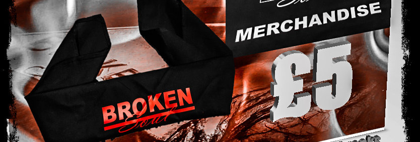 Bandana With Broken Soul logo