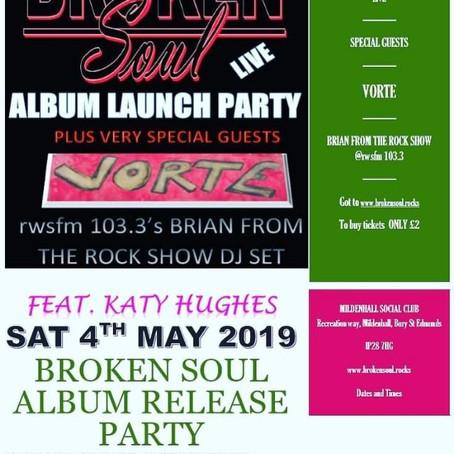 Album launch party