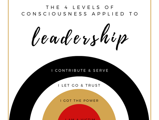 4 levels of Conscious Leadership