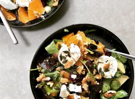 Beetroot, Avocado & Orange Salad