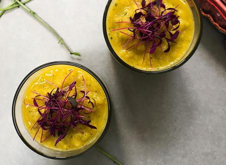 Pineapple & Courgette Gazpacho