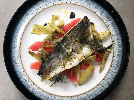 Sea Bass, Fennel & Grapefruit⁠