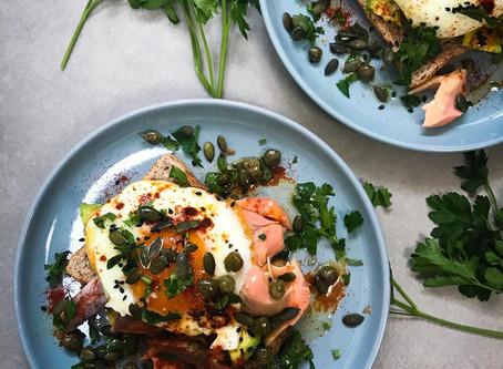 Kiln Smoked Trout & Eggs