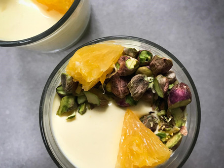 Orange & Saffron Posset